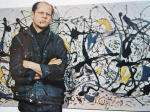 With his style of drip painting, Jackson Pollock one of the best known artists in the abstract expressionist movement. However, whether you'd call what he did art is entirely up to you.
