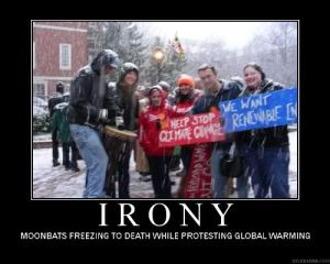 While many contrarians tend to argue that global warming doesn't exist due to record snow on the ground, these people have no idea how climate change works. In fact, many scientists point out that climate change increases evaporation which means more precipitation. And this is consistent with record snowfall in cold weather.