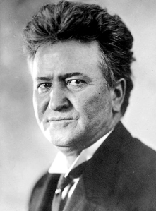 Though a Wisconsin politician, Robert La Follette had a national impact on the US political process by introducing the direct primary. Before he came along with his Wisconsin Idea, political candidates were usually selected by party bosses who usually ran the elections.