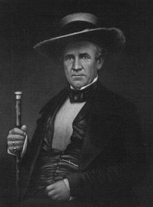 """Fellow citizens, in the name of your rights and liberties, which I believe have been trampled upon, I refuse to take this oath.""- from 1860 when Texas decided to secede. Sam would later lose his post as Governor of Texas over this. Man, this guy can't catch a break."