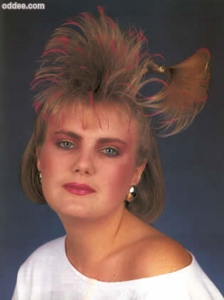 Okay, this was probably from the 1980s. But still, it makes you think of a rat's nest on steroids.