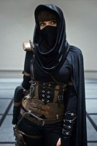 Then again, she could just be a Muslim who's really into steampunk. We must not judge.