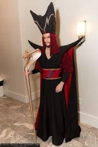 Interestingly enough, Jafar was based on a real guy who wasn't that bad but ended up executed. However, that Jafar had usually been the go-to guy for inspiring evil grand viziers ever since, particularly in the Arabian Nights.