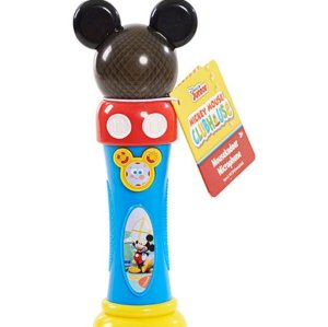 "From LOL WOT: ""This is a toy that is just supposed to let kids have a microphone that has some of the characteristics of Mickey. The problem is the device had a rather phallic shape that encouraged kids to put it near their mouths."""