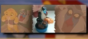 "From LOL WOT: ""This small little toy was supposed to emulate the famous scene where the monkey wiseman holds Simba up to the heavens to show the new Lion King. Unfortunately the way the toy is positioned, makes it look like something else entirely is on Rafiki's mind."" What it is, I really don't want to know."