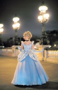Yes, this is the standard Cinderella ball gown made by the Fairy Godmother. Still, I think the Fairy Godmother should've came earlier when her dad died and called child services. But no one's asking me.