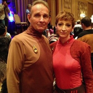As a shapeshifter, Odo is well suited for the job but doesn't know where he comes from. Major Kira is a Bajoran who wants independence for her people.