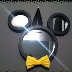 This one has a bow tie. Wonder if Walt himself had one of these. Probably. Somewhere.
