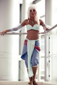 This is Princess Kida from Atlantis: the Lost Empire. She later becomes queen and ends up shacking up with a much younger man.