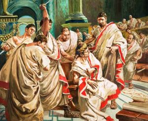 """Et tu, Brute? — Then fall, Caesar!"" - Act III, Scene 1. Should've not come to the Senate on the Ides of March, Caesar. But you didn't listen."