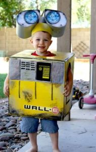 WALL-E was such a great movie from Pixar. And this is such a cool costume made from a box.