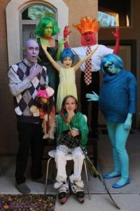 Yes, this is a family rendition of Inside Out. Also, Bing Bong is played by the dog.