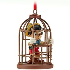 Because nothing says Merry Christmas like lying your ass off and being locked in a cage. Yeah, Pinocchio is way more disturbing than what most people remember.