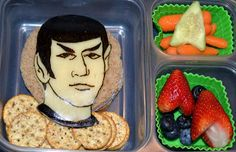 After all, it has a cheese Spock over a sandwich. Still, it's nutritional content should allow your kid to live long and prosper.