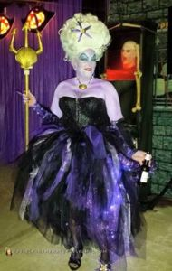 Well, this Ursula has green hair and is really a sea witch. But boy, she's so entertaining.