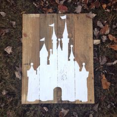 Cindrella's castle is in Magic Kingdom and is used for the Disney logo. You see it a lot in silhouette.