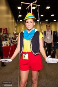Pinocchio has never been among my favorite Disney movies. However, I have to admit that this is a really good costume.