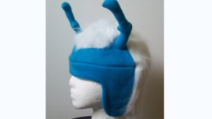"From Games Radar: ""Set Phasers to fun? Based on Thy'lek Shran from the series Star Trek: Enterprise, this headwear homage will be greeted with nods of recognition by only the most stringent of Trekkies – everyone else will think you've just been separated from the world's weirdest stag do. Hopefully the fleece lining can still keep you warm and cosy when all of your friends refuse to stand anywhere near you.."""