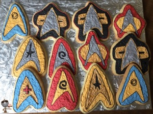 Since these cookies are of Starfleet officer insignia. Might not be for all alien tastes.