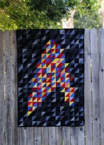 Well, this one is interesting since it's made from triangle pieces. Not sure if you'd want it on a fence.