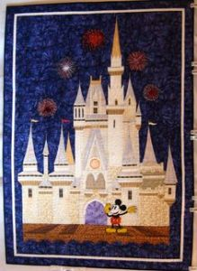 Seems whoever made this did a very good job with the castle and fireworks. Of course, Mickey has to be included to know that it's Disney we're talking about.