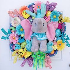 Sure it's a very cheery decoration with flowers and such. But Dumbo isn't known to be a cheery movie, at least until the baby elephant learns to fly.