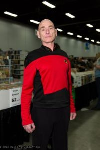 Along with Kirk, Picard is seen as one of the more iconic Star Trek captains. He may be a consummate Earl Grey drinking gentlemen and diplomat, but he's not a guy you'd want to mess with.