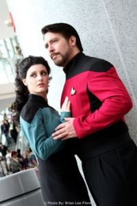 I don't have the slightest idea. However, TNG would've probably been a better show without either of them.