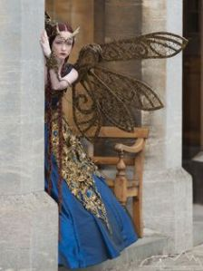 This is a steampunk fairy. You get a lot of them. Like her dress if you ask me though.