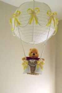 I think this might be for a baby room. But it's just so adorable you can't resist. After all, Pooh is such an endearing bear you got to love.