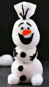 Yes, this is a sock Olaf from Frozen. And I believe he bears close resemblance to him in the movie.