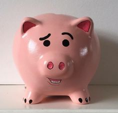 Man, that really looks like him. Wonder why Disney doesn't sell Ham piggy banks more often. They could make a profit with this.