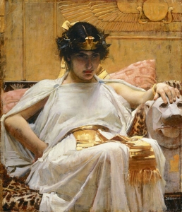 "Cleopatra: ""Where's my serpent of old Nile?/For so he calls me."" - Act I, Scene 5"