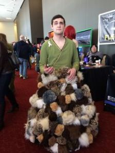 "By the way, ""Trouble with Tribbles"" one of the best Star Trek episodes ever. It's also hilarious. Remember tribbles make terrible pets."