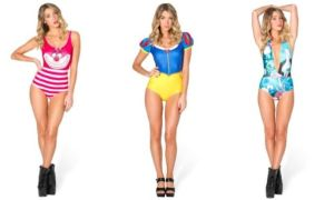 Yes, these are Disney swimsuits and they're for adults. Whether they look stupid at the beach remains to be seen.