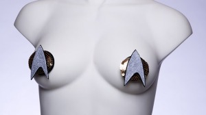 Well, I guess I know what the strippers are wearing at a Trekkie convention. Still, these are ridiculous.