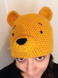 Well, it doesn't show all of Pooh's head. But it's so adorable that you don't even care.