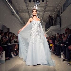 "From Smosh: ""Despite the age of your average Frozen fan, this Elsa-inspired bridal gown is not made for children, but is instead designed for adults who probably tried to wedge their feet in glass slippers in hopes of landing royalty. The person who gets this gown is is the type of person who can't leave behind the idea of a ""fairytale wedding"", no matter how much medication their doctor prescribes them."""