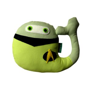 It's a Data whale because it's green like him in TNG. Still, it's adorable to say the least.