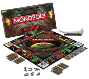 Uh, I'm not sure you'd want to see Klingons playing Monopoly. I guess the winner is the one who's left standing or is still alive.