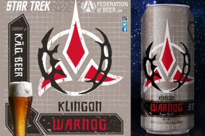 And let's hope that Klingons have a very high tolerance for alcohol. Because you really don't want to be near a bunch of Klingons if they're drunk. Or angry. Or horny. Or partying.