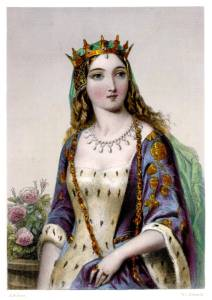 """""""Peace, impudent and shameless Warwick, peace!/Proud setter-up and puller-down of kings!"""" - Act III, Scene 3. Because Queen Margaret isn't going down in these Wars of the Roses without a fight. And she will fight even when her husband won't."""