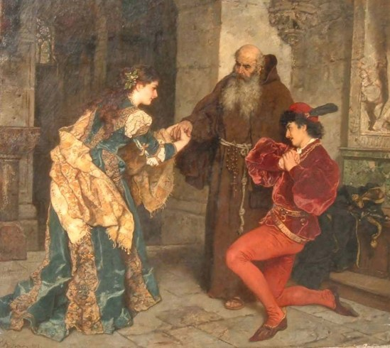 Romeo-and-Juliet-before-Father-Lawrence-Karl-Ludwig-Friedrich-Becker