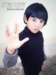 Being half-human, you'd have to expect Spock being bullied while he was a child. Still, this is adorable.