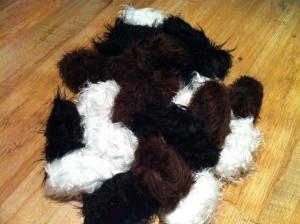Given that it's a tribble rug, this is probably easy to make. But at least the tribbles in your home won't multiply like crazy.