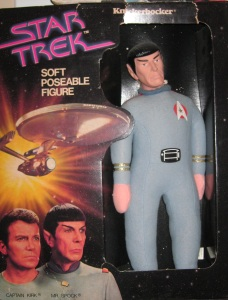 I don't know about you. But to me, Spock doesn't strike me as a cuddly guy. So this toy doesn't make any logical sense.
