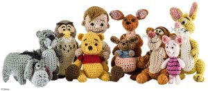 I may not care for Mickey Mouse and his friends. But I do like Winnie the Pooh. And I have to admit, these are adorable.