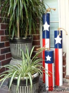 Sure they may not explode. But they are clad like the American flag and are great for either indoors or outdoors.