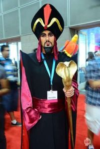 I'd love to see Jafar going through airport security. Bet he'll use his staff to hypnotize TSA agents.