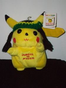 Guess this is a Jamaican Pikachu. Has the power of electric shock as well as smokes ganja and listens to reggae music.